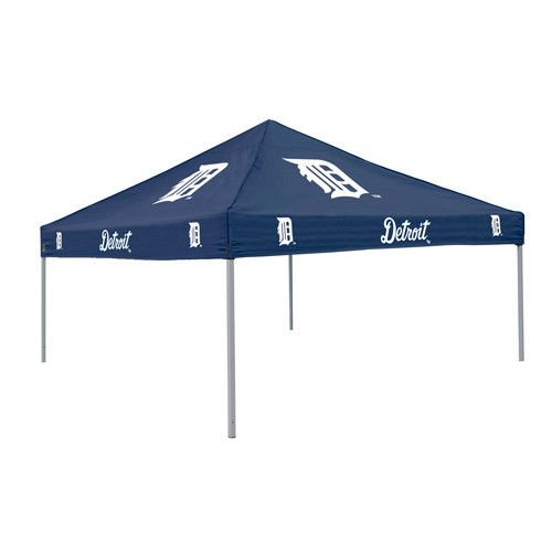 Detroit Tigers MLB Colored 9'x9' Tailgate Tent