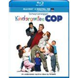 KINDERGARTEN COP - Blu-Ray; Arnold Schwarzenegger, Penelope Ann Miller, Pamela Reed, Linda Hunt, Richard Tyson. ROMANCE, DRAMA, SUSPENSE, THRILLER. Who knew a Rugged Cop could teach kids and fall in Love at the same time! AWESOME STORYLINE!! GREAT, HAPPY MOVIE!!