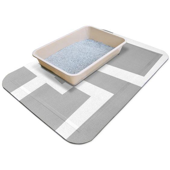 Fab.com | SmartGrip Litter Mat Gray II