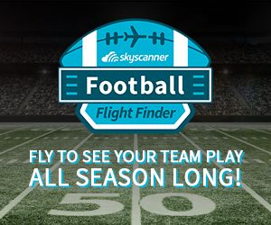 New #Football Flight Finder Tool Allows Fans to Fly & See Their Favorite #NFL Team Play All Season Long!
