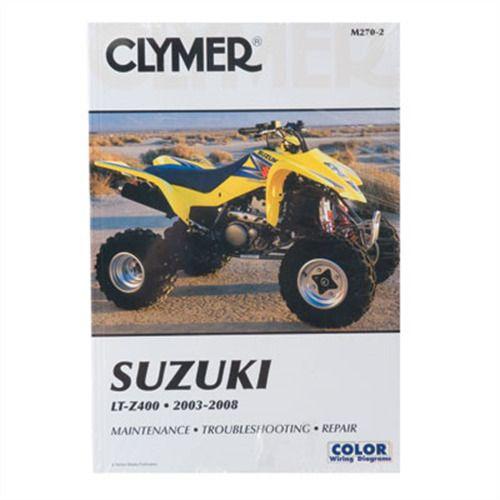 Ebay Sponsored Clymer Repair Manuals M270 2 Kawasaki Kfx 400 Suzuki Z400 Quadsport Repair Manuals Clymer Suzuki
