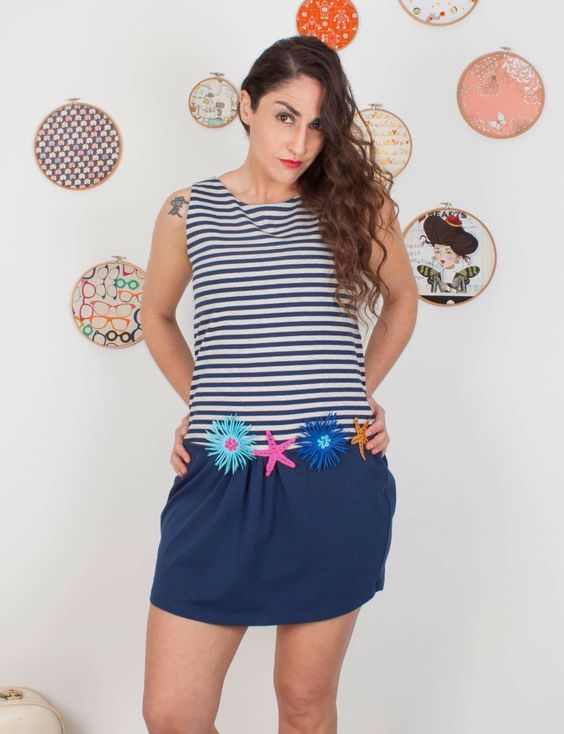 #vestidos #verano #comounaregadera #modaoriginal #modaverano