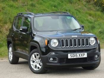 used 2015 15 reg black jeep renegade 1 6 multijet longitude 5dr for sale on rac cars cars. Black Bedroom Furniture Sets. Home Design Ideas