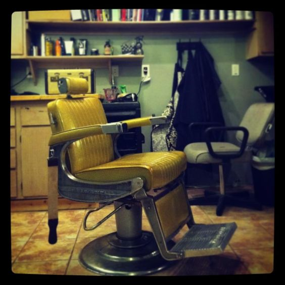 Where the magic happens.  Classic shave...