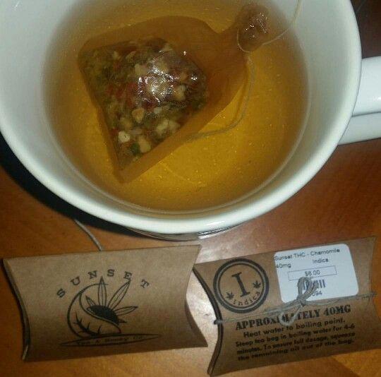 """HERBAL"" Tea. Sunset Sherbet"