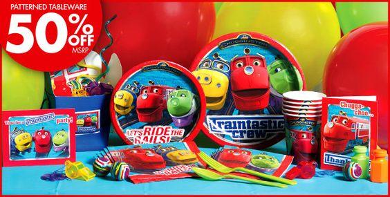 Chuggington Party Supplies-Chuggington Birthday- Party City
