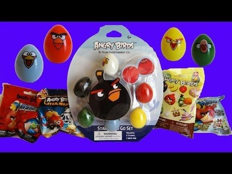 Angry Birds Mashem K Nex Star Wars Blind Bags Stamp And Go