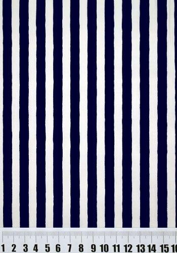 Tecido Listrado Azul Marinho Ref 20070