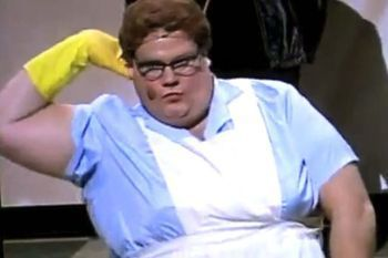 Chris Farley as the Lunch Lady (SNL)
