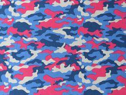 Tissu Popeline Imprimé Camouflage en vente sur TheSweetMercerie.com