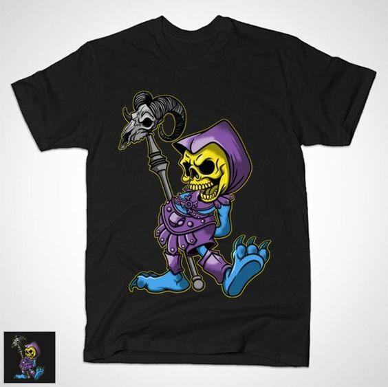 CLASSIC MYAAH T-Shirt - Skeletor T-Shirt is $14 today at TeePublic!