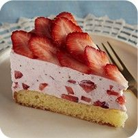 Dorie Greenspan's Strawberry Mousse Shortcake Cake Recipe
