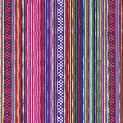 Weave Peru 3 - Farbmix - Taschenwelt - Stoffe - Folklore - Folklore - Jackenstoffe & Mantelstoffe - Dekostoffe Streifen - stoffe.de