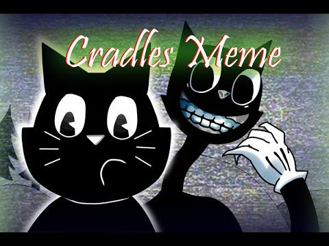 The Legend Of Cartoon Cat Animation Cradles Meme Youtube Cartoon Cat Cartoon Animation