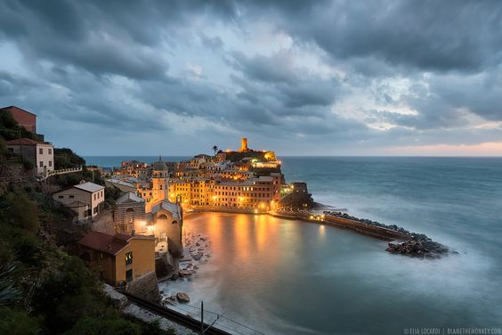 Eye of the Storm | Vernazza by Elia Locardi on 500px