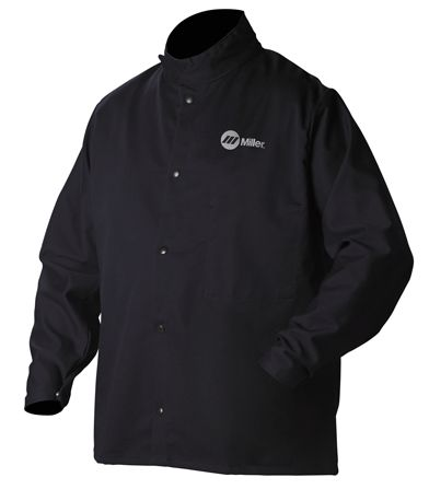 Miller Welding Jacket - Classic Cloth 244749 Medium $20.80