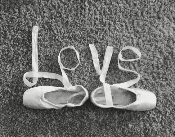 Ballet shoes #ballet #love #tumblr