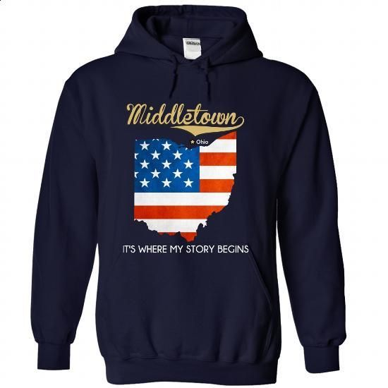 Middletown - Ohio - Its Where My Story Begins ! - personalized t shirts #mens dress shirt #transesophageal echo