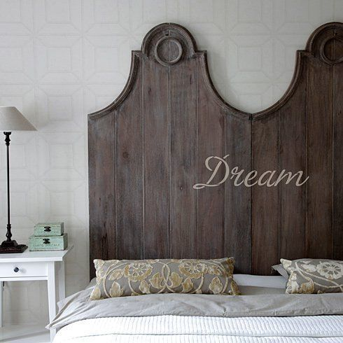 Dream Wall Quote Stencil | eBay