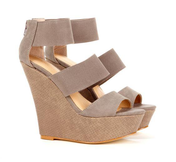 jasmine open toe wedge