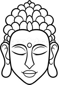 How To Draw Buddha Easy Step 7 Steinebemalenvorlagen How To Draw Buddha Easy Step 7 Buddha Gemalde Ganesha Zeichnung Malen Und Zeichnen