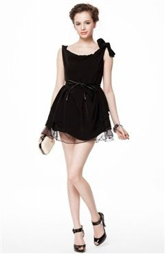 It is a very cute little black dress with bow decorated.You can dress it to have a date,go to party or cocktail party.Tied Cowl Neck LBD Dress Style Code: 08630 $145  Shop it here:http://www.outerinner.com/shoulder-tied-cowl-neck-lbd-dress-pd-08630-20.html #outerinner #black #littleblackdress