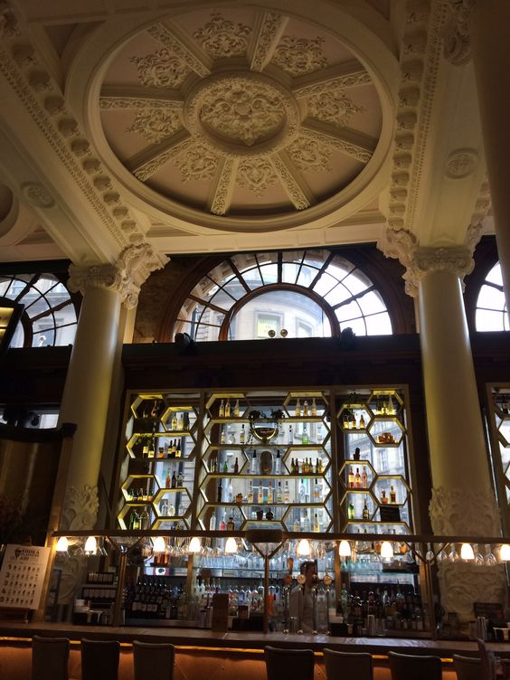 Vodka Revoultion in Newcastle. A beautiful bank converted into a bar :)