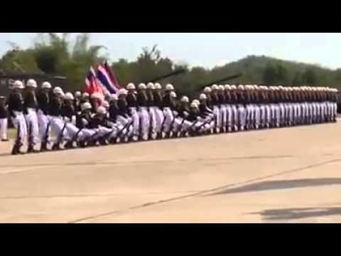 Awesome Thai Military Parade.....