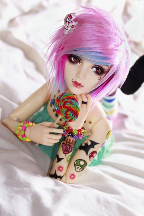 wonderful-dolls:  Candyception by SoftPoison on deviantART