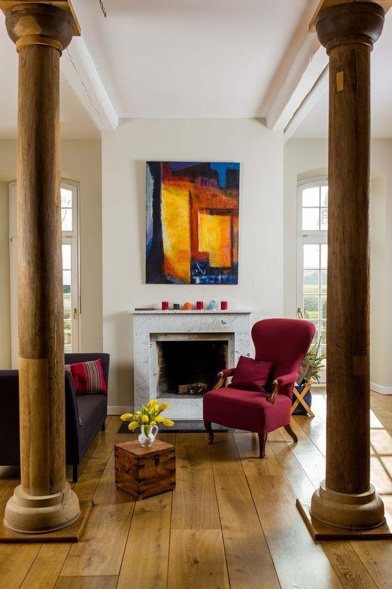 ein umgebauter Pferdestall in \u0027Thonga\u0027 gestrichen anna von - wohnzimmer grun grau streichen