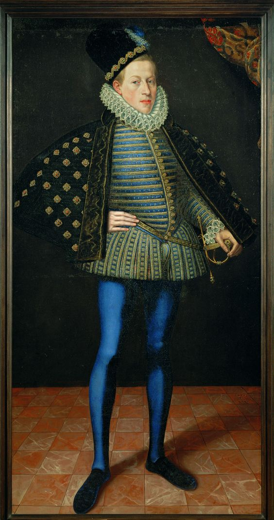 1579 Lucas I. van Valckenborch - Archduke Matthias, future Holy Roman Emperor (Kunsthistorisches Museum, Vienna)