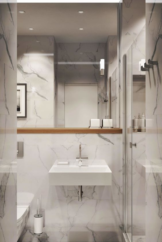 55 Awesome Inspiring Small Bathroom Design Ideas Bathroom Design Small Bathroom Interior Design Small Bathroom Remodel
