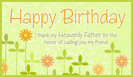 Free Honored Friend eCard eMail Free Personalized Birthday Cards – Free Online Birthday Cards for Friends