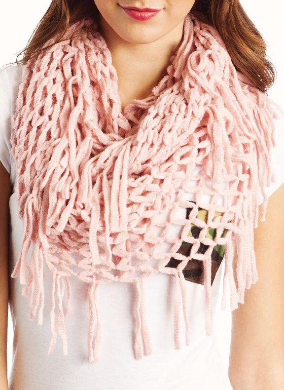 net infinity scarf