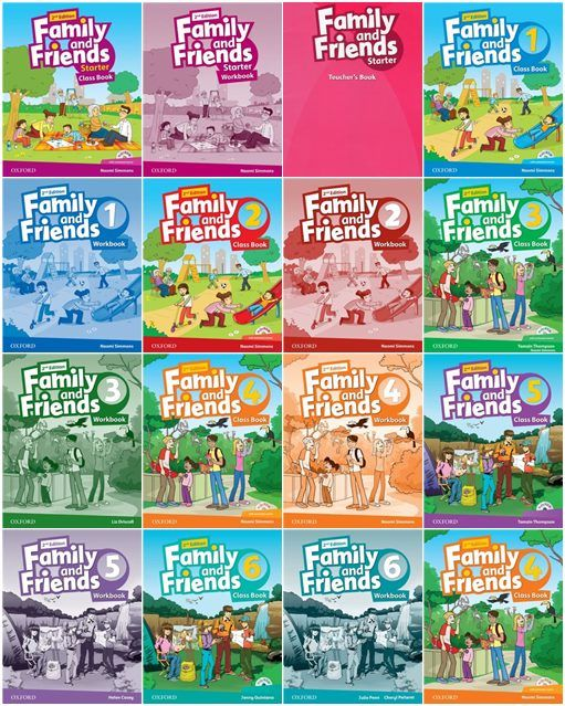 Oxford Family And Friends 2nd Edition Teacher Books Class Book Oxford Books
