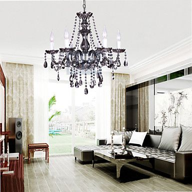 Crystal chandelier / traditional/classic vintage/ electoplated ...