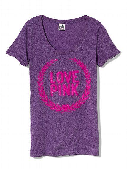 PINK Sequin Slouchy Tee #VictoriasSecret http://www.victoriassecret.com/Clearance/pink/sequin-slouchy-tee-pink?ProductID=78879=CLR?cm_mmc=pinterest-_-product-_-x-_-x