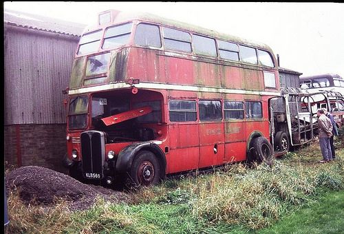 Image result for derelict rt buses