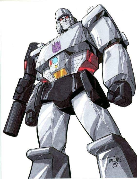 G1 Megatron Transformers Megatron Transformers Artwork