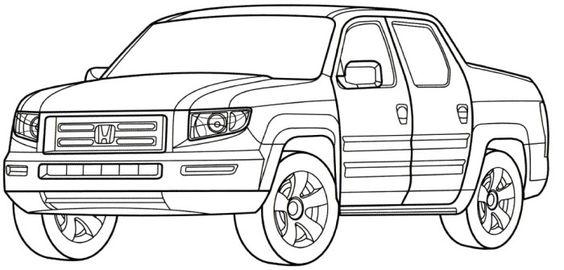 honda ridgeline rtl coloring page teacher stuff With honda ridgeline car