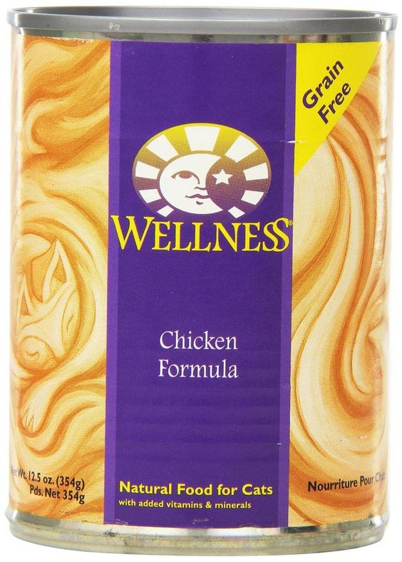Wellness Complete Health Natural Wet Canned Cat Food, Chicken Recipe #WellnessNaturalPetFood