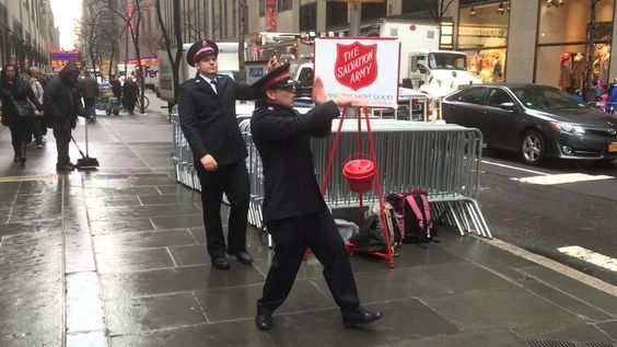 More Salvation Army Dancing Bell Ringers