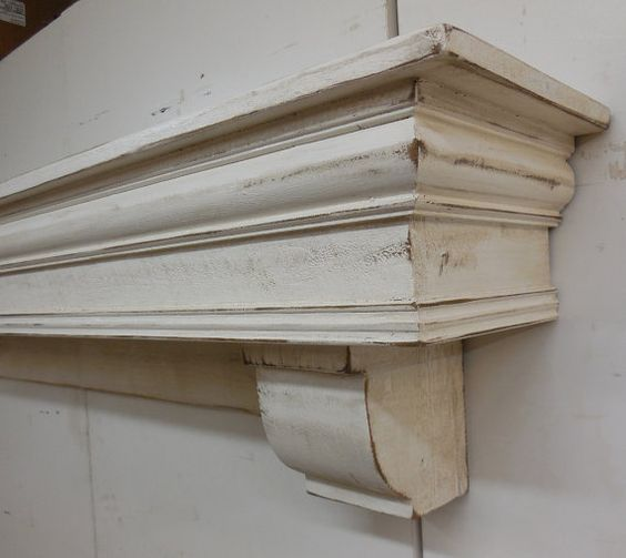 French Country Mantle with corbels, Fireplace mantle and corbels ...