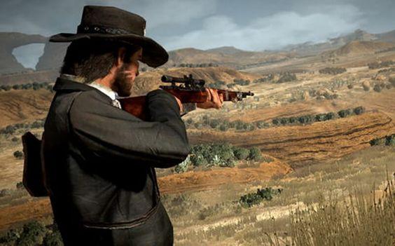 Red Dead Redemption 2 - sniper