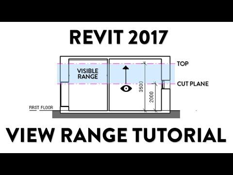 Youtube How To Use View Range Revit Tutorial Revit Architecture