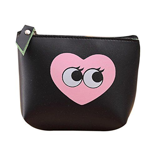 Cartoon Transparent Cute Coin Purse Student Change Small Pouch Bag Storage Bags