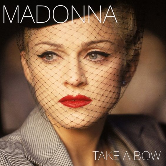 Madonna – Take a Bow (single cover art)