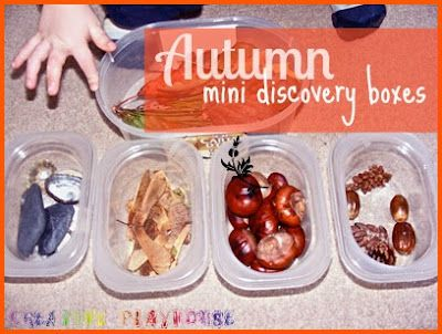 Autumn mini discovery boxes from Creative Playhouse: