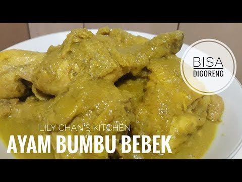 Ayam Bumbu Bebek Ala Lc Youtube Memasak Resep Ayam Resep