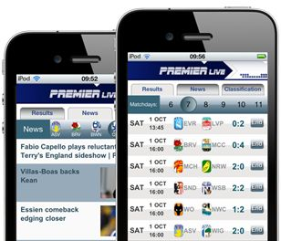 If you are a fan of the Premier League, now you can enjoy current events of the Premier League more than ever before with the new version of the app Premier live, thanks to its totally improved design and its exceptionally good navigation.  Round results, live comments, tables, fixture statistics and the best player comparer. Have access to every piece of news about the league, Manchester United, Liverpool or your favourite team of the Premier League in real time. Available in six languages